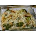 Kuřecí maso s brokolicí a nivou