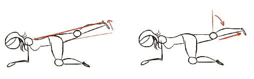 cvičení na stehna